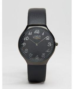 Limit | Черные Часы С Узким Кожаным Ремешком Черный
