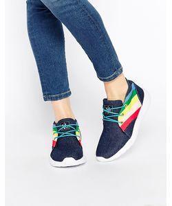 YRU | Кроссовки С Цветными Вставками Beam High Деним
