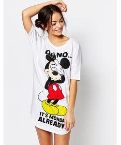 Missimo | Ночная Рубашка Disney Mickey Mouse Monday Разноцветный