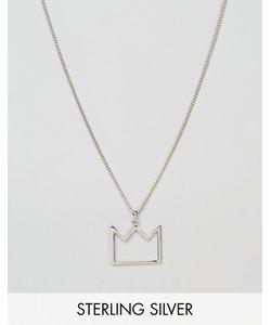 Serge DeNimes | Серебряное Ожерелье Английской Пробы С Подвеской Serge De Nimes 950