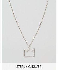 Serge DeNimes | Серебряное Ожерелье С Подвеской-Короной Serge De Nimes