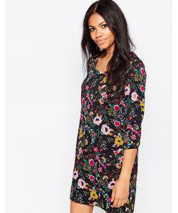 Poppy Lux | Свободное Платье В Этническом Стиле Shonda Мульти