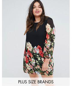 Yumi Plus | Платье-Туника С Принтом