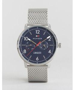 Tommy Hilfiger | Часы С Серебристым Сетчатым Ремешком 1791354