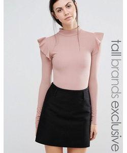 Fashion Union Tall | Боди С Оборками На Плечах