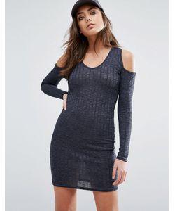 Daisy Street | Облегающее Платье С Открытыми Плечами