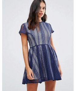 Wal G | Кружевное Платье