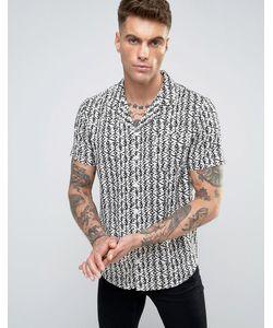 Another Influence | Рубашка С Принтом
