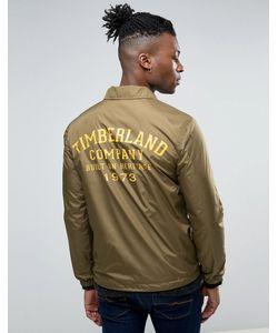 Timberland | Узкая Спортивная Куртка С Логотипом На Спине