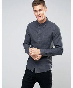 Burton Menswear | Slim Shirt In Chambray