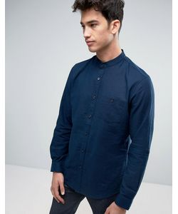 Threadbare | Рубашка С Воротом На Пуговице Из Хлопка И Льна