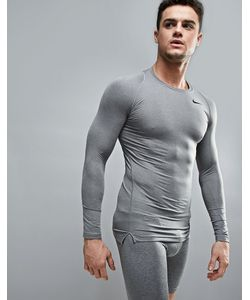 Nike Training | Compression Long Sleeve Top In 703088-091