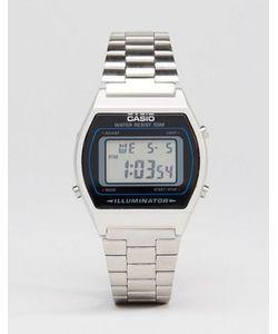 Casio | Серебристые Цифровые Часы B640wd