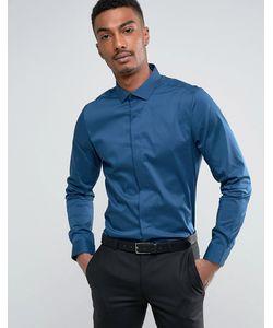 Burton Menswear | Строгая Приталенная Рубашка