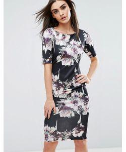 AX Paris | Платье Миди С Цветочным Принтом