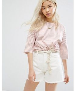 Mih Jeans | M.I.H Jeans Oversized Stripe Jersey Top