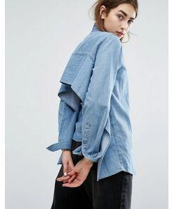 Cheap Monday | Джинсовая Рубашка С Открытой Спиной