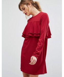 Fashion Union   Платье С Оборками