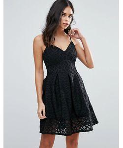 Jessica Wright | Короткое Приталенное Платье На Бретельках