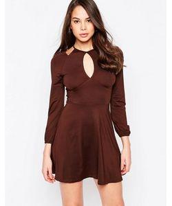 AX Paris | Платье С Открытыми Плечами И Вырезом Капелькой