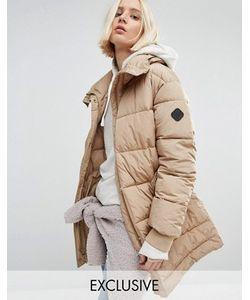 Puffa | Удлиненная Дутая Оversize-Куртка
