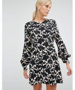 Sportmax Code | Платье С Цветочным Принтом