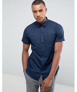 Selected Homme | Классическая Рубашка В Стиле Милитари С Короткими Рукавами