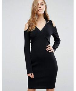 SuperTrash | Облегающее Платье С Вырезами На Плечах Damara