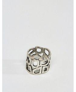 Asos | Шлифованное Серебряное Кольцо С Вырезом