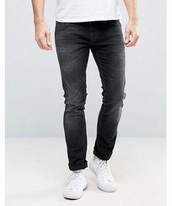 Nudie Jeans Co | Облегающие Черные Джинсы Nudie Long John Coyote