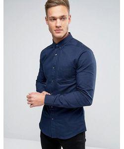 Burton Menswear | Оксфордская Рубашка Узкого Кроя
