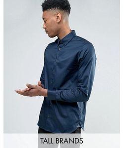 Ted Baker | Строгая Рубашка Из Атласной Эластичной Ткани Tall