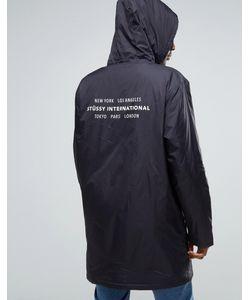 Stussy | Тренерская Куртка С Капюшоном И Принтом Сзади