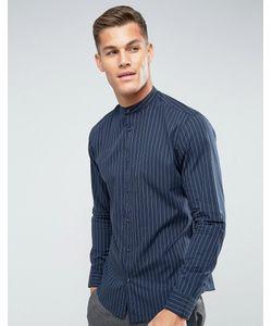 Selected Homme | Рубашка Классического Кроя В Полоску С Воротом На Пуговице