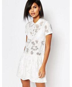 Vero Moda | Кружевное Платье С Заниженной Талией