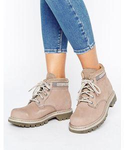 Cat Footwear | Cat Ridge Lace Up Flat Boot