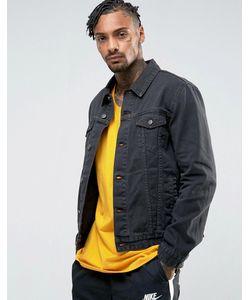 Asos | Черная Джинсовая Куртка