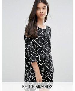 Vero Moda Petite | Цельнокройное Платье С Абстрактным Принтом