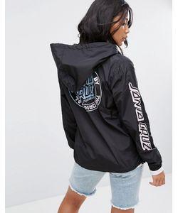Santa Cruz | Куртка С Капюшоном Молнией 1/2 И Логотипом