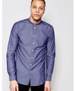 Minimum | Рубашка С Воротником На Пуговице Darnell Темно-Синий