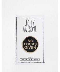 Jolly Awesome | Эмалированный Значок Attitude Мульти