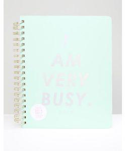 BAN DO | Ежедневник Ban.Do I Am Very Busy Синий