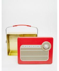 Temerity Jones | Коробка Для Завтрака В Виде Старинного Радиоприемника Мульти