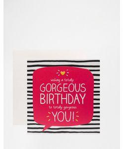 Happy Jackson | Поздравительная Открытка На День Рождения Totally Gorgeo