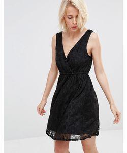 Lavand. | Кружевное Приталенное Платье Lavand Черный