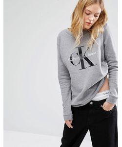 Calvin Klein | Свитшот С Логотипом Jeans Светло-