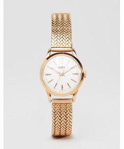 Henry London | Часы Цвета Розового Золота Hl25-M-0022 Richmond Розовое Золото