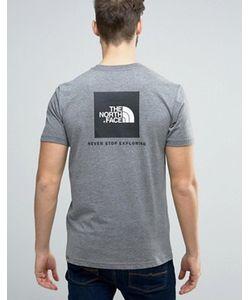 The North Face | Меланжевая Футболка С Логотипом Сзади Box