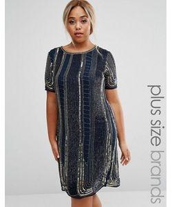 Lovedrobe Luxe | Цельнокройное Платье С Отделкой