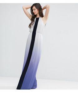 Y.A.S Tall | Плиссированное Платье Макси С Эффектом Омбре Y.A.S Studio Tall